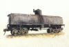 Frameless tank car